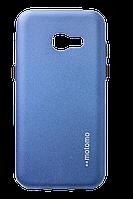 Чохол силіконовий Motomo для Samsung Galaxy A7 2017 SM-A720H Metallic Blue