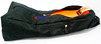 Сумка Чехол для Самоката детского трехколесного Scooter Maxi Mini Micro - Black с карманом и мягкой спинкой