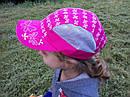 Летние кепочки для девочек 2- 4 года, фото 3
