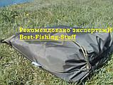 Садок рыболовный квадрат на металлических дугах 3м F-16, фото 6