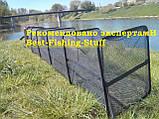 Садок рыболовный квадрат на металлических дугах 3м F-16, фото 2