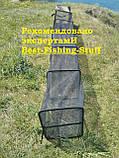 Садок рыболовный квадрат на металлических дугах 3м F-16, фото 3