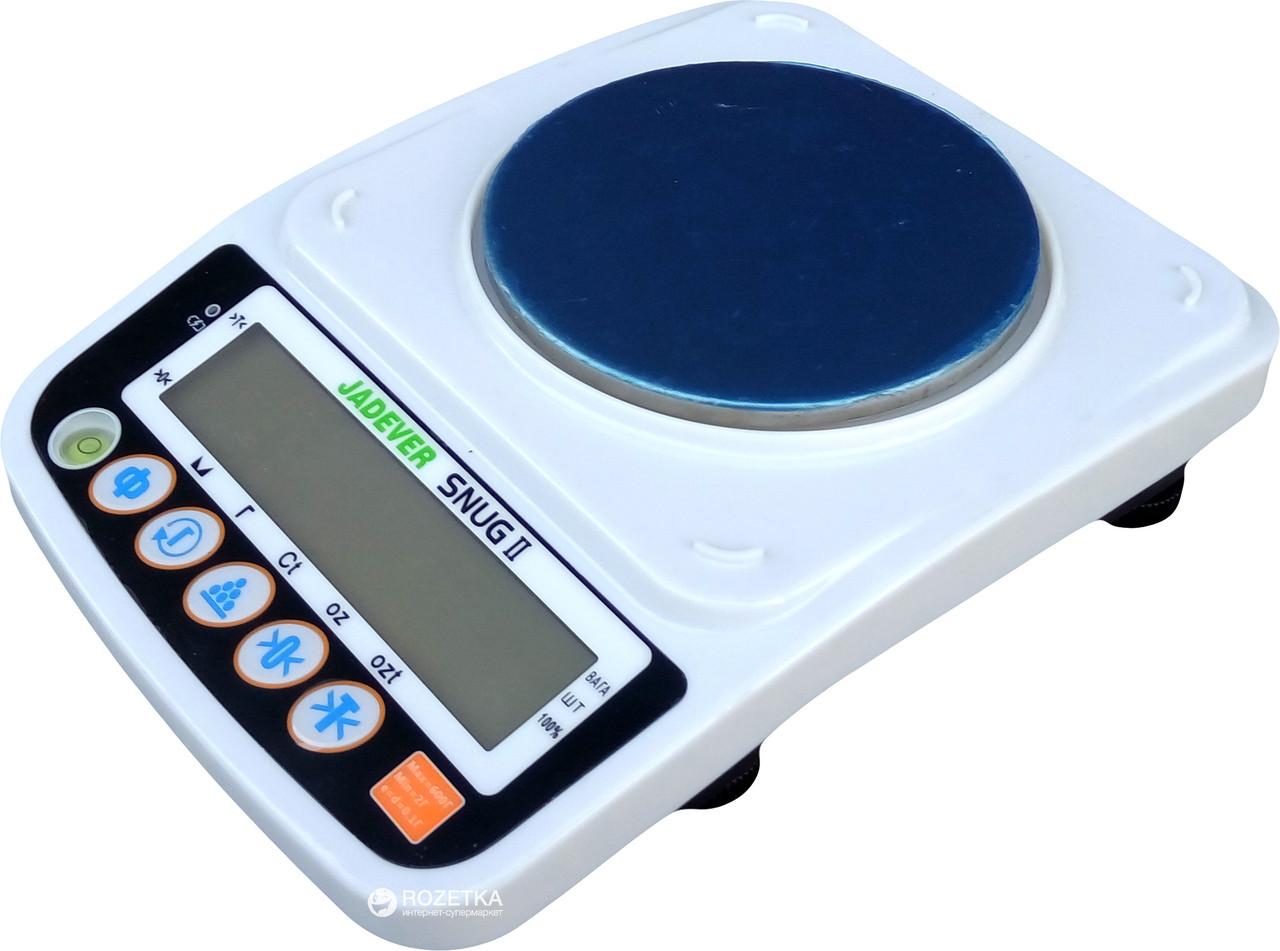 Лабораторні ваги для ломбарду Jadever Snug 150/0,02
