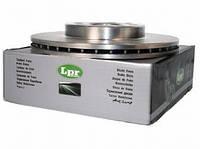 Тормозной диск ланос 1.5 передний R13(комплект 2 шт) LPR