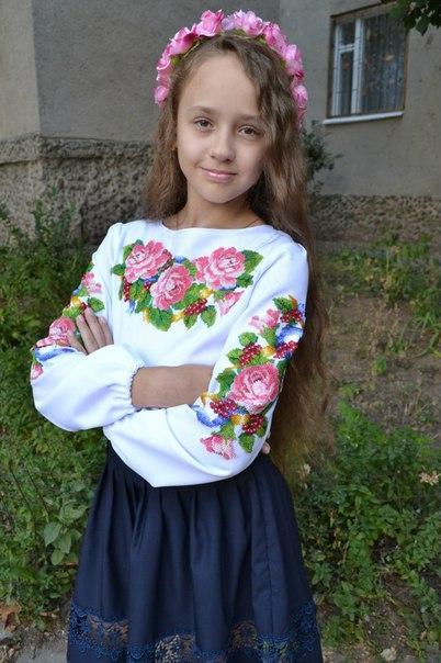 0a3c537a297bcd Заготовки дитячих сорочок та блуз для вишивки. Товары и услуги компании