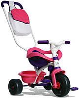Велосипед трехколесный Be Move Confort - Smoby - Франция - есть сумка и корзина