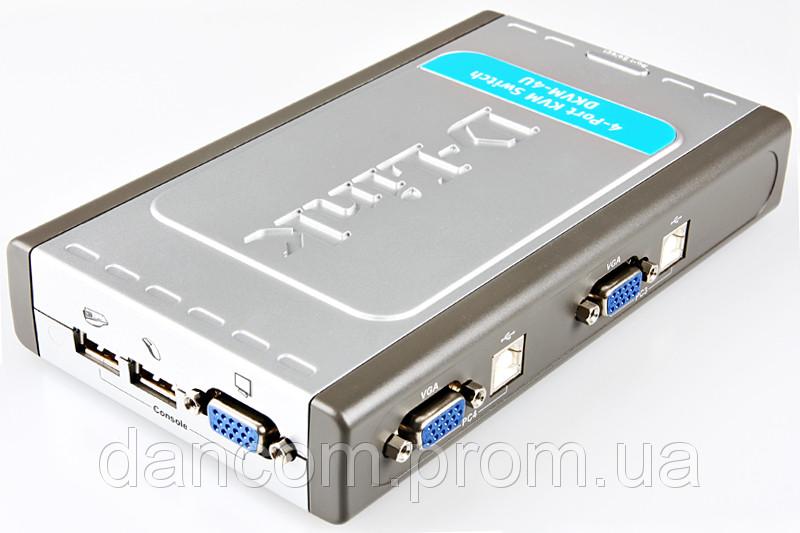Коммутатор KVM D-Link DKVM-4K бу