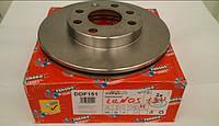 Тормозной диск ланос 1.5 передний R13(комплект 2 шт) FERODO