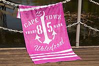 Полотенце пляжное велюр 75х150 Waterfront розовый Lotus