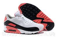 Мужские кроссовки Nike Air Max 90 EM white-red, фото 1