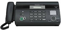 Факс Panasonic KX-FT982UAB чёрный, термобумага