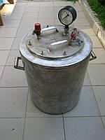Автоклав промышленный на 40 (1-литровых) или 80 (0,5-литровых) банок (Николаев) NIK, фото 1