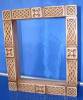 Кіот для ікони дерев'яний на зкаказ, фото 1