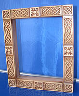 Киот для иконы деревянный на зкаказ, фото 1