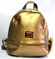Рюкзак молодёжный MOSCHINO кожзам (ЗОЛОТО)