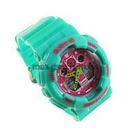 Часы Casio BABY-G BGA-130 green