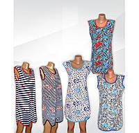Туника женская пляжная больших размеров, хлопок, р.р. 42-66