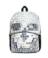 """Рюкзак """"Disco Scull"""" (цвет серебристо-серый), MOJO"""