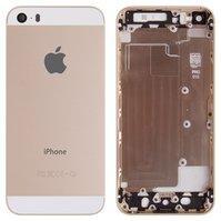 Корпус для мобильного телефона Apple iPhone 5S, High Copy, золотистый