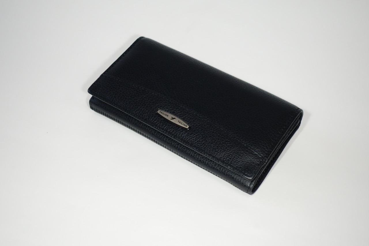 Кошелек кожаный Tailian T515 купюрница black