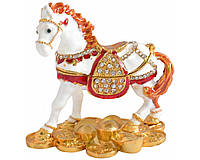 """Шкатулка ювелирная """"Лошадь"""" QF4564-1"""