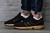 "Женские кроссовки Adidas ZX Flux Copper ""Black/Gold"""
