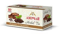 """Чай """"Азерчай"""" черный с ароматом корицы и гвоздики, 25 ф/п"""