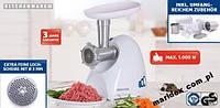 Машинка для измельчения мяса и шинковки капусты 1000W