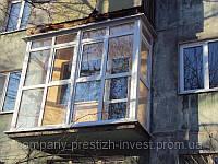 Стоимость французских балконов Макеевка от компании «Престиж Инвест»