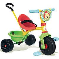 Велосипед трехколесный Be Move Winnie The Pooh  - Smoby - Франция - Ручка велосипеда регулируется по длине