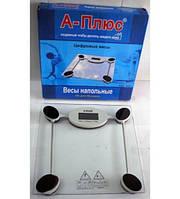 Весы электронные напольные цыфровые 6mm    А-Плюс SC1652