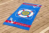 Полотенце пляжное велюр 75х150 Lifebuoy Lotus