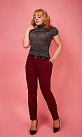 Классические женские брюки с карманами