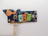 Плата кнопка включения Sony Vaio PCG-61611L VPCEE23FX DANE7TB16E0 3ENE7BB0000