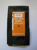 Гобеленовые иглы для вышивания крестиком и лентами № 18 (упаковка 25 шт)