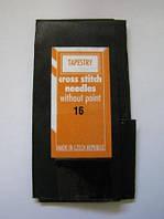 Гобеленовые иглы для вышивания крестиком и лентами № 16 (упаковка 25 шт)