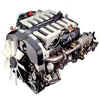 Двигатель (навесное, топливная, впускная и выпускная системы)