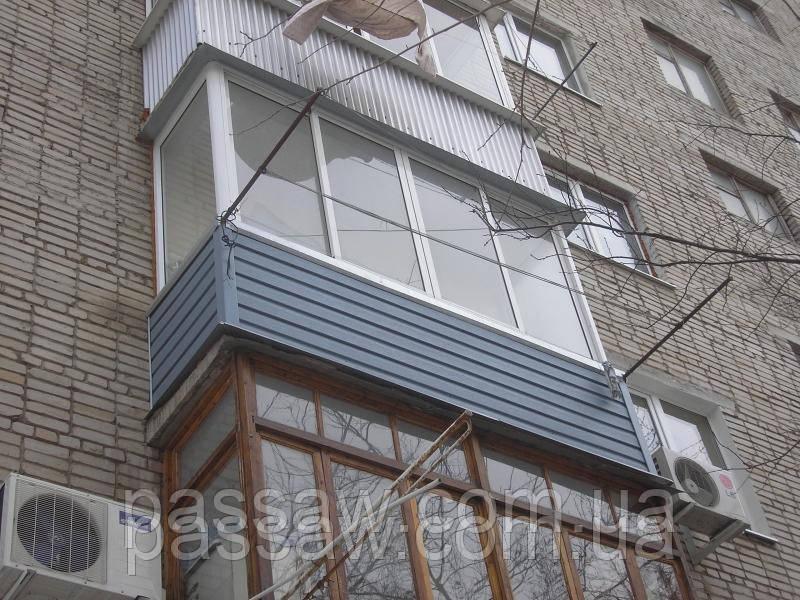 Осткление балконов в Николаеве