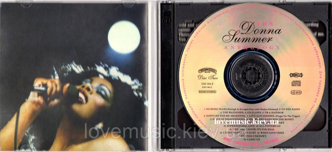 Музыкальный сд диск DONNA SUMMER The anthology (1993) (audio cd)