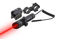 Лазерный целеуказатель с красным лучом и выносной кнопкой