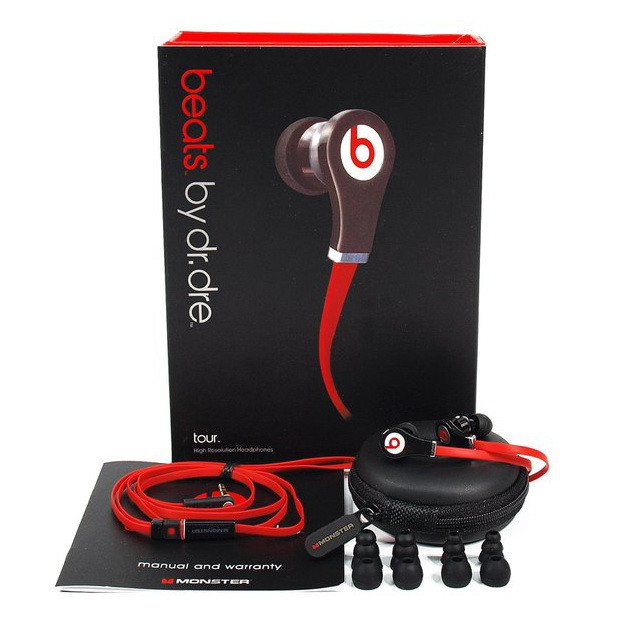 "Monster Beats by Dr.Dre  ""Tour"" Replica A+ class, фото 1"