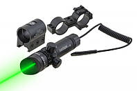 Лазерный целеуказатель с зеленым лучом, отлично подойдет для огнестрельного оружия и пневматики