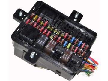 Электроника (щитки приборов, блоки управления и предохранителей, датчики и прочее.)