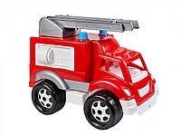 Пластмассовая игрушка пожарная машина Технок 1738