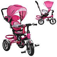 Велосипед M 3114-6A три кол.резина, колясоч.поворот,своб.ход колеса