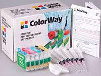 НПК ColorWay Epson P50, PX660/700/710/720/730/800/810/820/830, R265/285/360, RX560/585/595/685, разд