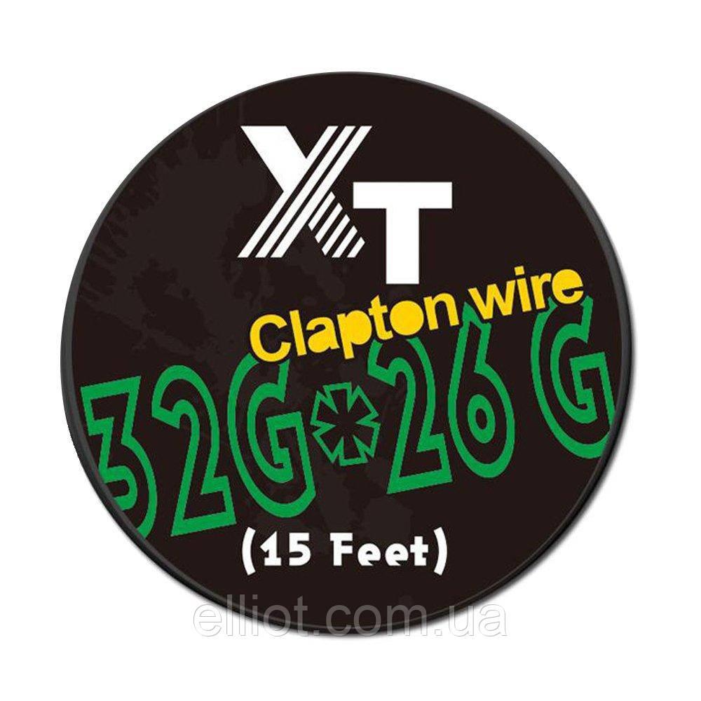5 метрів Clapton coil клептон койл спіраль для Вейпа Кантал