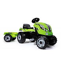 Трактор педальный с прицепом Smoby Farmer XL  710111