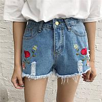 Шорты джинсовые W02