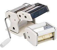 Лапшерезка BIOWIN с насадкой для РАВИОЛИ, механическая, белая